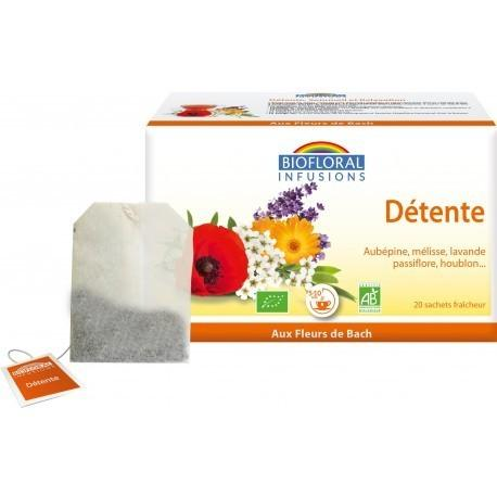 Détente Sommeil Relaxation Infusions Bio 20 sachets