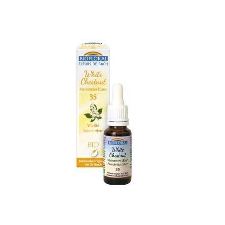 Elixir Fleur de Bach 35 WHITE CHESTNUT 20 ml