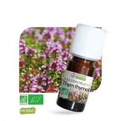 Thym, huile essentielle bio, flacon de 5 ml